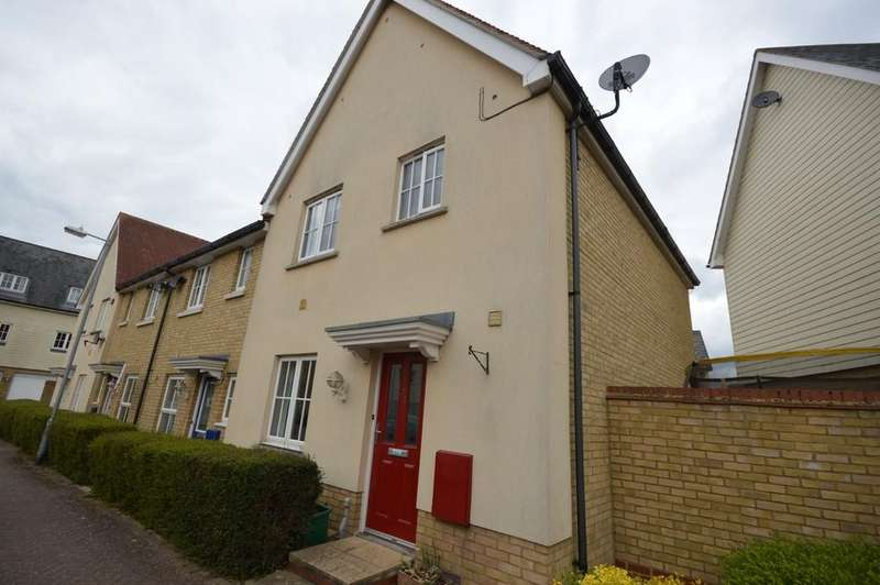 3 Bedrooms End Of Terrace House for sale in Weetmans Drive, Colchester