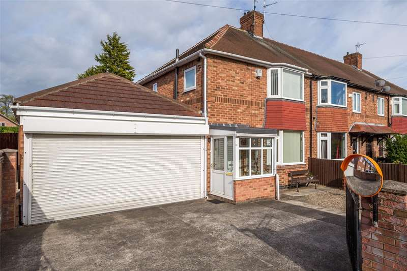 3 Bedrooms End Of Terrace House for sale in Tennent Road, York, YO24