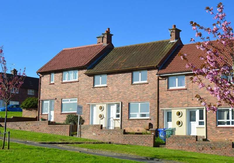 3 Bedrooms Terraced House for sale in Peggieshill Road, Belmont, Ayr, Ayrshire, KA7 3RQ