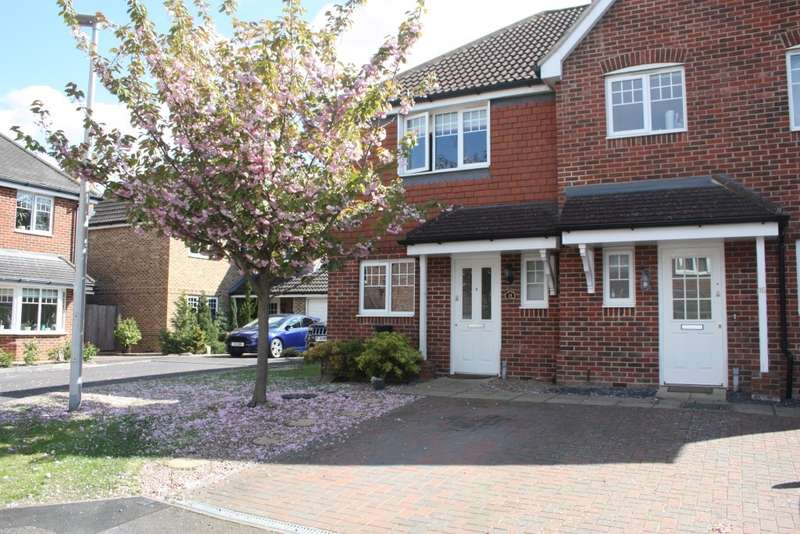 2 Bedrooms Semi Detached House for sale in Heather Hill Close, Earley, RG6