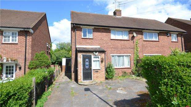 3 Bedrooms Semi Detached House for sale in Fane Way, Maidenhead, Berkshire