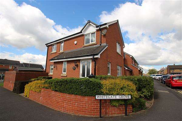 3 Bedrooms Semi Detached House for sale in Whitegate Grove, Longton, Stoke-on-Trent
