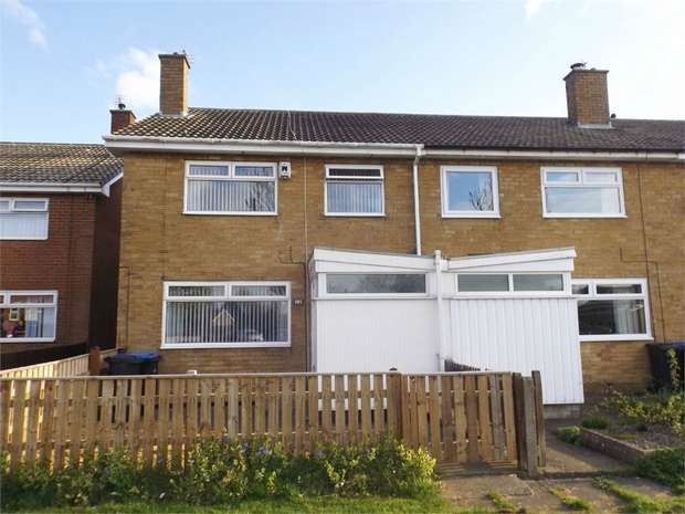 3 Bedrooms End Of Terrace House for sale in Formby Green, Middlesbrough, North Yorkshire