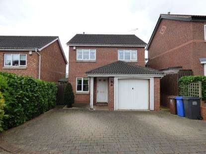 3 Bedrooms Detached House for sale in Kilverston Road, Sandiacre, Nottingham