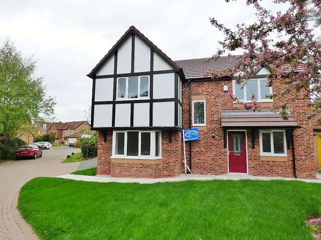 4 Bedrooms Detached House for sale in Vermont Close, Great Sankey, Warrington