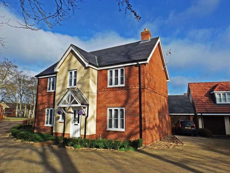 4 Bedrooms Detached House for sale in Anvil Way, Newmarket, Cambridgeshire, CB8