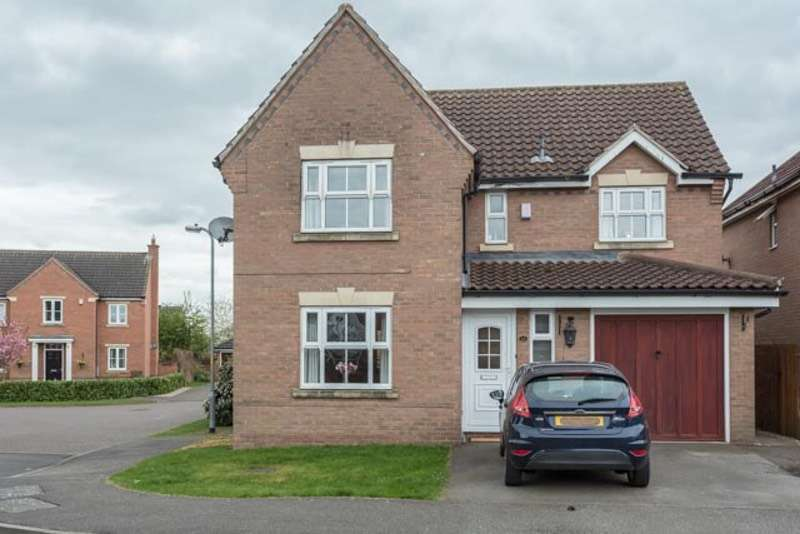4 Bedrooms Detached House for sale in Beresford Drive, Lincoln, Lincolnshire, LN2