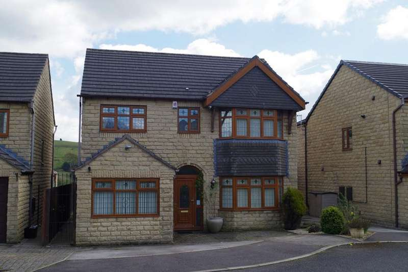 5 Bedrooms Semi Detached House for sale in Whitley Drive, Holmfield, Halifax HX2