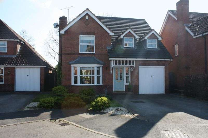 4 Bedrooms Detached House for sale in Bedingstone Drive, Penkridge, Stafford