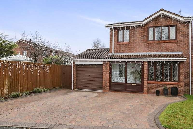 3 Bedrooms Detached House for sale in Cunningham Road, Perton, Wolverhampton, WV6