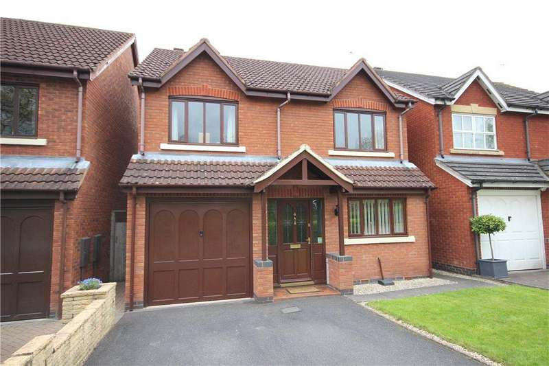 4 Bedrooms Detached House for sale in Caister Avenue, Worcester, Worcestershire, WR4