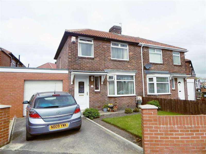 3 Bedrooms Semi Detached House for sale in Tynedale Avenue, Kings Estate, Wallsend, NE28