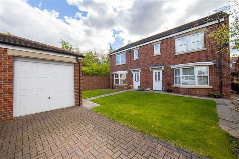 3 Bedrooms Semi Detached House for sale in Wiltshire Gardens, Wallsend, Tyne Wear, NE28