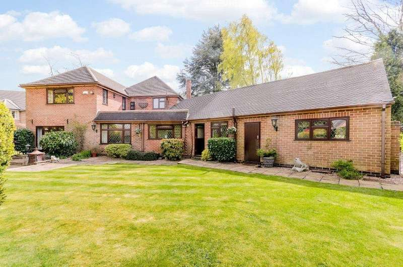 4 Bedrooms Detached House for sale in Chain Lane, Littleover, Derby, Derbyshire, DE23