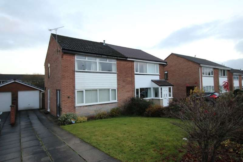3 Bedrooms Semi Detached House for sale in Montrose Drive, Bromley Cross, Bolton, BL7