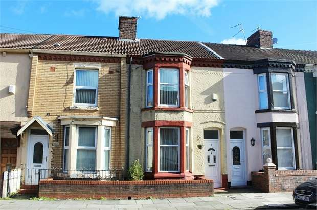 3 Bedrooms Terraced House for sale in Gilroy Road, Liverpool, Merseyside
