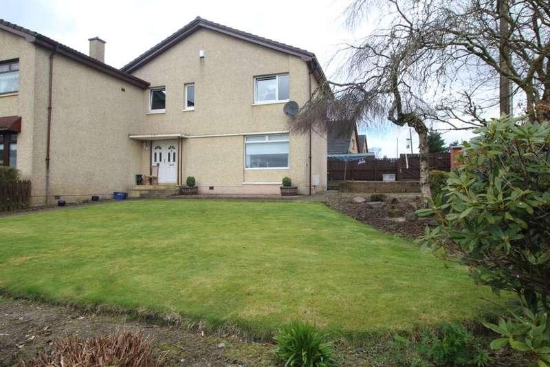 3 Bedrooms Semi Detached House for sale in Park View, Fauldhouse, Bathgate, EH47