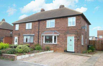 3 Bedrooms Semi Detached House for sale in Clune Street, Clowne, Chesterfield, Derbyshire