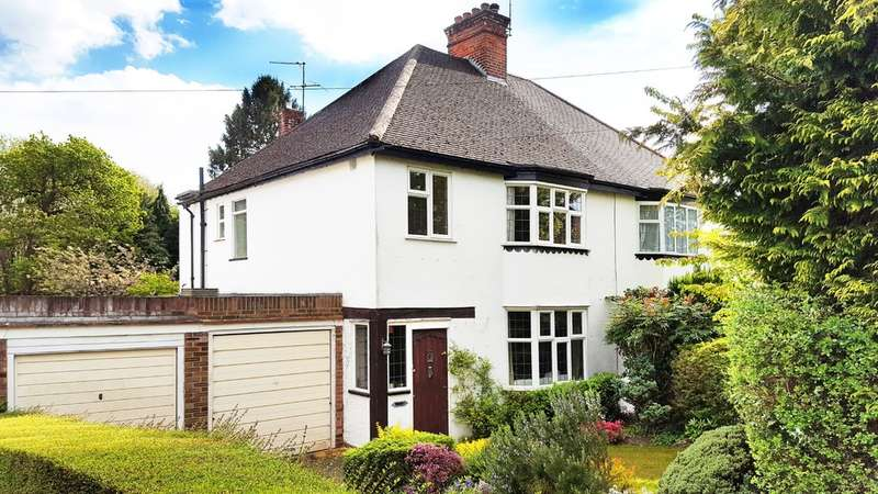 3 Bedrooms Semi Detached House for sale in Cuckoo Hill Road, Pinner