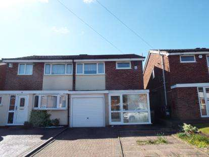 3 Bedrooms Semi Detached House for sale in Manor Gardens, Birmingham, West Midlands