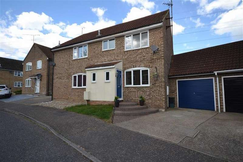 3 Bedrooms Semi Detached House for sale in Paston Close, South Woodham Ferrers, Essex