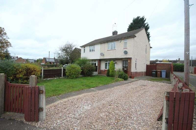 2 Bedrooms Semi Detached House for sale in SWARKESTONE DRIVE, LITTLEOVER.