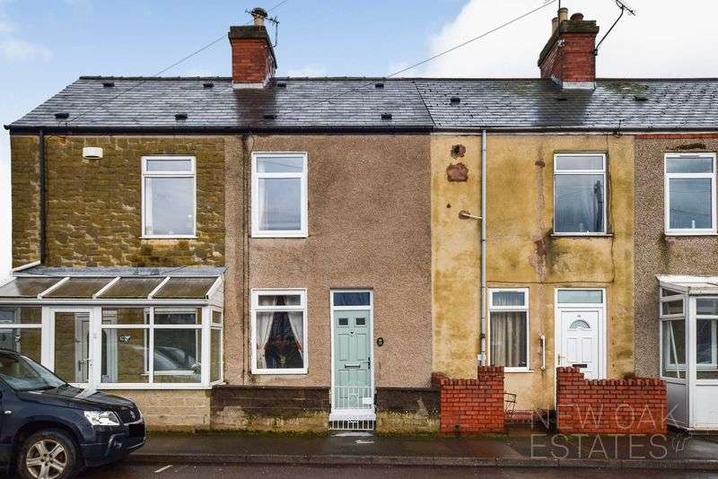 2 Bedrooms Terraced House for sale in Chesterfield Road, North Wingfield