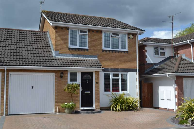 3 Bedrooms Link Detached House for sale in Birchwood Gardens, Cardiff