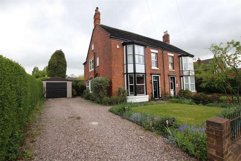 4 Bedrooms Semi Detached House for sale in Walsall Road, Lichfield, Staffordshire