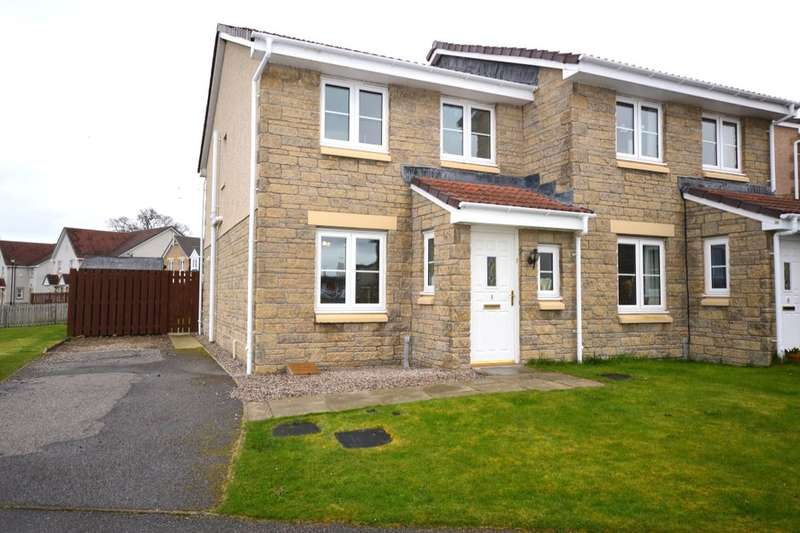 3 Bedrooms Semi Detached House for sale in Dellness Park, Inverness, IV2