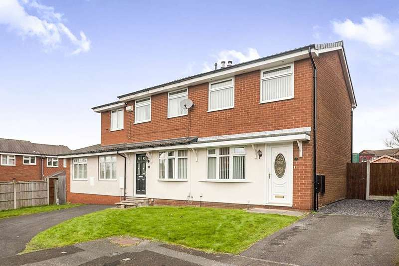 2 Bedrooms Semi Detached House for sale in Peel Close, Whiston, Prescot, L35