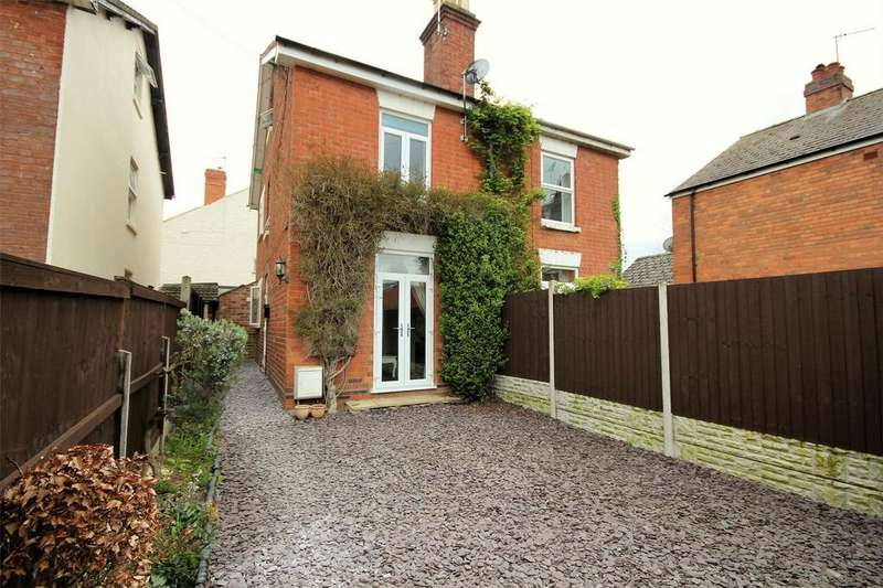 3 Bedrooms Semi Detached House for sale in Knight Street, St John's, Worcester