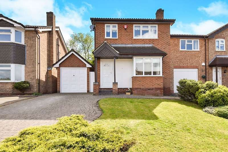 3 Bedrooms Detached House for sale in Cricketers Close, Burton-On-Trent, DE15