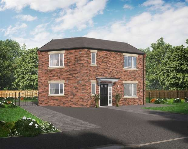 3 Bedrooms Detached House for sale in Plot 54 The Bede *Only 1 Detached at Eden Field*, Eden Field, Newton Aycliffe, Durham, United Kingdom