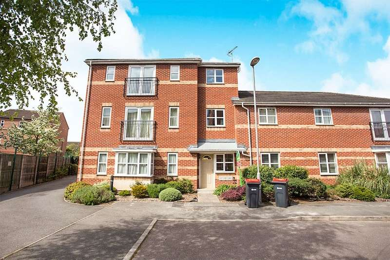 2 Bedrooms Flat for sale in Robin Bailey Way, Hucknall, Nottingham, NG15