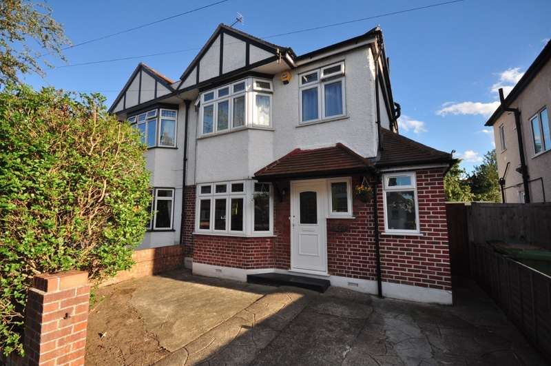 4 Bedrooms Semi Detached House for sale in Templedene Avenue, Staines-Upon-Thames, TW18
