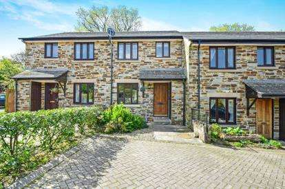 3 Bedrooms Terraced House for sale in Halwell, Totnes, Devon