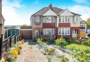 3 Bedrooms Semi Detached House for sale in Jersey Road, Rochester, Kent, .