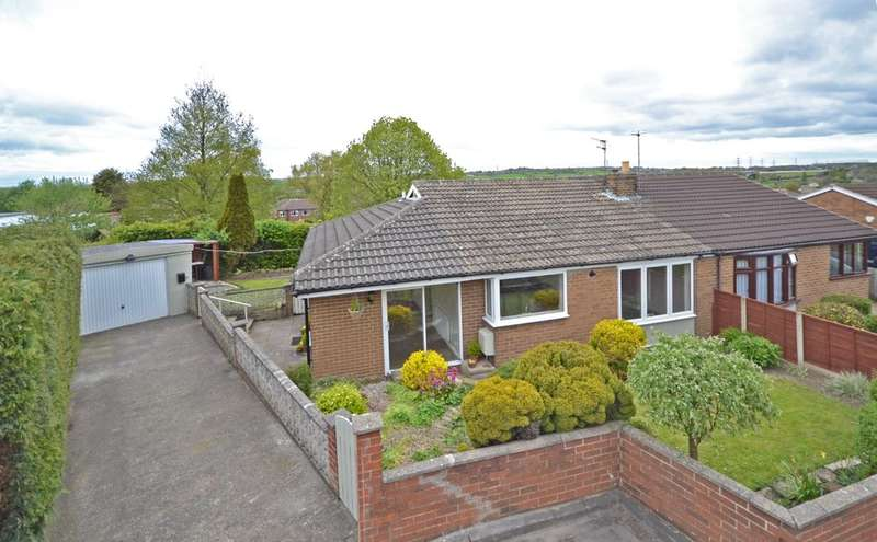 3 Bedrooms Semi Detached Bungalow for sale in Pippins Green Avenue, Kirkhamgate, Wakefield