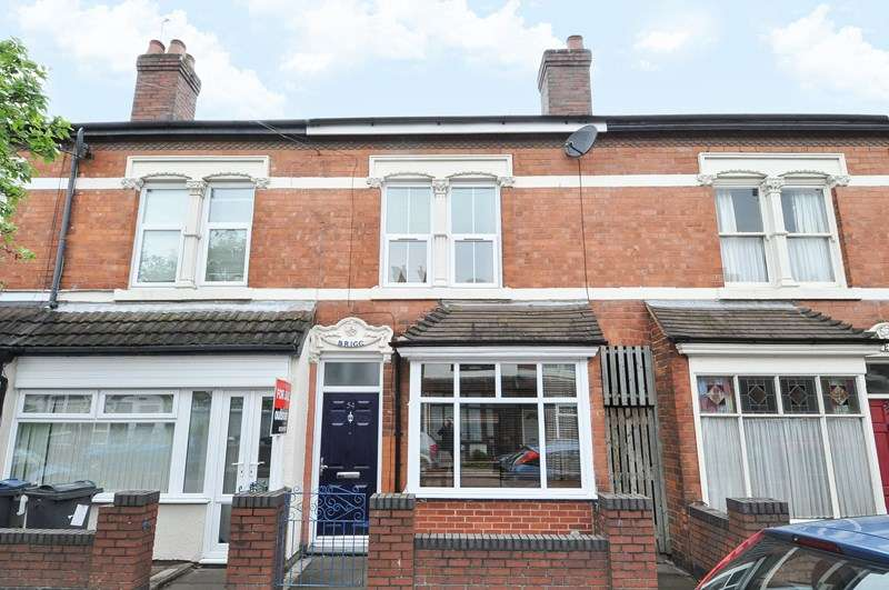 2 Bedrooms Terraced House for sale in Cecil Road, Selly Park, Birmingham