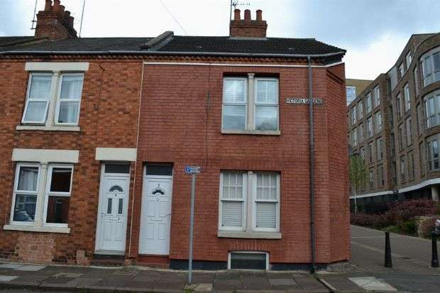 3 Bedrooms End Of Terrace House for sale in Victoria Gardens, Town Centre, Northampton NN1 1HJ