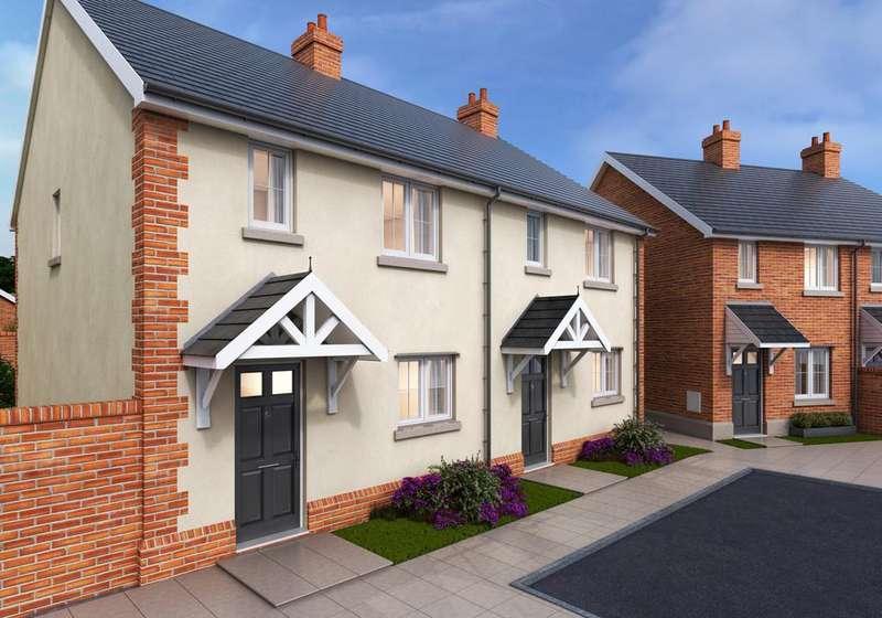 3 Bedrooms Terraced House for sale in Elmfield Way, Kingsteignton, Newton Abbot