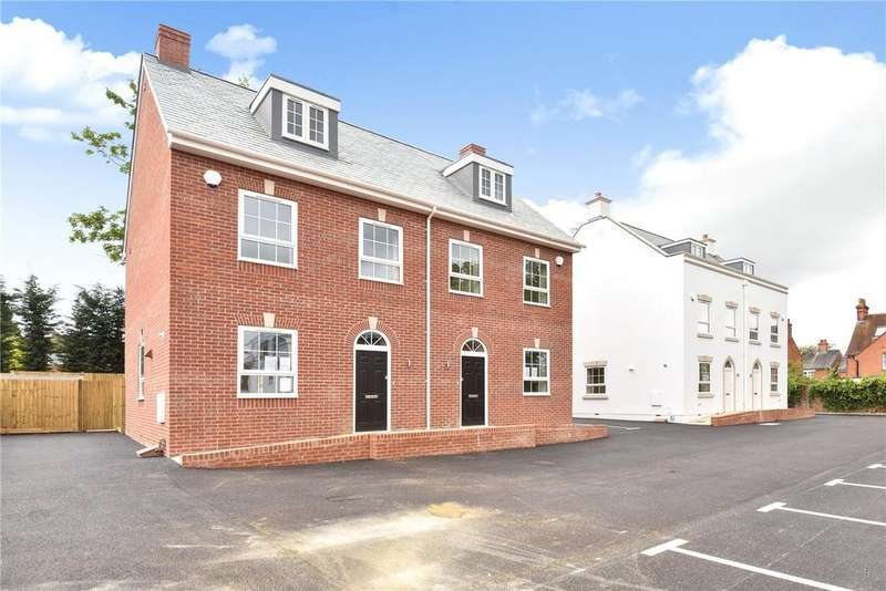 3 Bedrooms Semi Detached House for sale in Edison Place, Winchester Road, Basingstoke, RG21