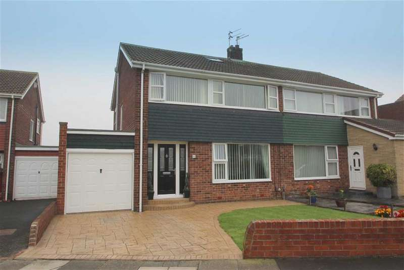 3 Bedrooms Property for sale in Thirlmere Avenue, Marden Farm, Tyne & Wear, NE30