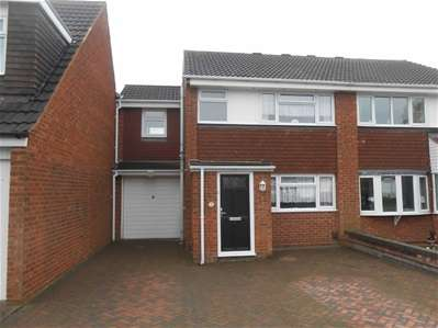 3 Bedrooms Semi Detached House for sale in Cranleigh Close, Sneyd Park, Willenhall