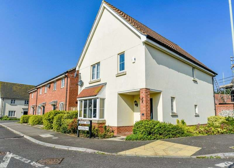 4 Bedrooms Detached House for sale in Privet Way, Red Lodge, IP28 8GQ