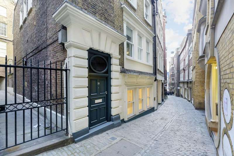2 Bedrooms Duplex Flat for sale in Lovat Lane ec3r