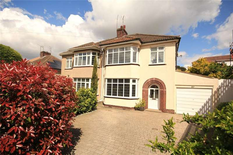 3 Bedrooms Semi Detached House for sale in Cleeve Hill, Downend, Bristol, BS16