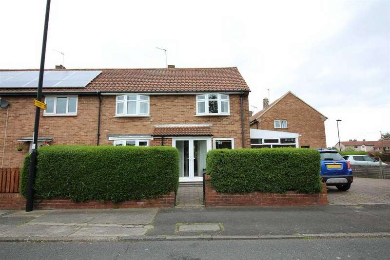 3 Bedrooms End Of Terrace House for sale in Stoneleigh Avenue, Longbenton, Newcastle Upon Tyne