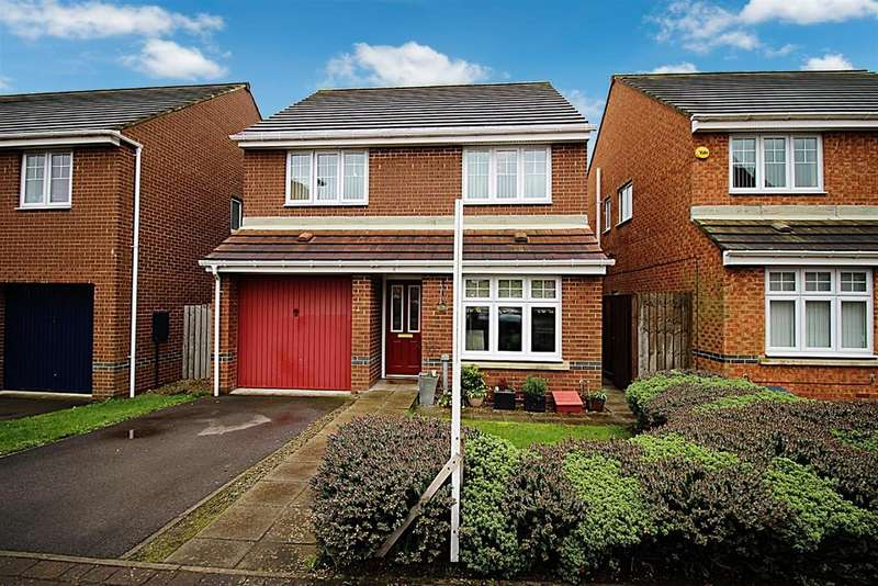 4 Bedrooms Detached House for sale in Kelvedon Avenue, Central Grange, Newcastle Upon Tyne